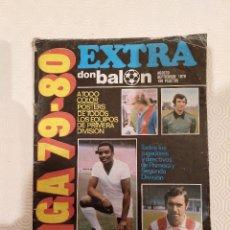Coleccionismo deportivo: DON BALON EXTRA LIGA 79 80. COMPLETA. USADA.. Lote 175654653