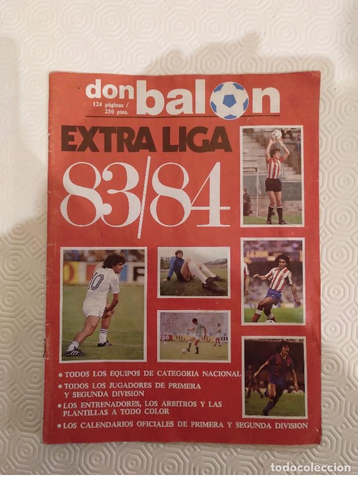 DON BALON EXTRA LIGA 83 84. COMPLETA. USADA. (Coleccionismo Deportivo - Revistas y Periódicos - Don Balón)