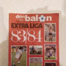 Coleccionismo deportivo: DON BALON EXTRA LIGA 83 84. COMPLETA. USADA.. Lote 175655188