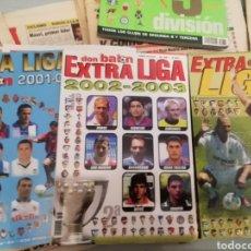 Coleccionismo deportivo: DON BALON EXTRAS LIGAS. LOTE DE 5. BUEN ESTADO. Lote 175677852