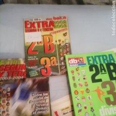 Coleccionismo deportivo: DON BALON. EXTRA 2 B Y 3 DIVISIÓN. FÚTBOL MODESTO. LOTE DE 3.. Lote 175678013