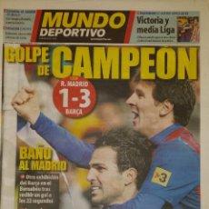 Coleccionismo deportivo: REAL MADRID 1 FC BARCELONA 3 - GOLPE DE CAMPEÓN. Lote 175691724