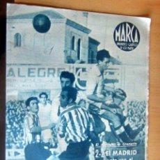 Coleccionismo deportivo: MARCA SUPLEMENTO GRAFICO DE LOS DEPORTES N 61 , 24 JUNIO 1944, MUY BUEN ESTADO. Lote 175741234