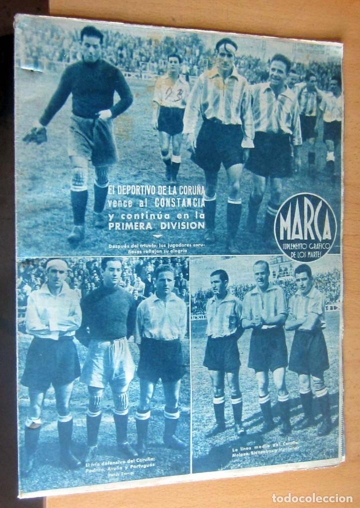 MARCA SUPLEMENTO GRAFICO DE LOS DEPORTES N 73 , 18 ABRIL 1944, EN MUY BUEN ESTADO (Coleccionismo Deportivo - Revistas y Periódicos - Marca)