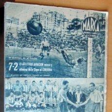 Coleccionismo deportivo: MARCA SUPLEMENTO GRÁFICO DE LOS DEPORTES N 76 , 9 MAYO 1944, EN MUY BUEN ESTADO. Lote 175741745