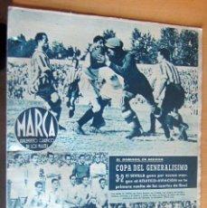 Coleccionismo deportivo: MARCA SUPLEMENTO GRAFICO DE LOS DEPORTES N 79 , 30 MAYO 1944, EN MUY BUEN ESTADO. Lote 175741818