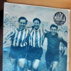 Coleccionismo deportivo: MARCA SUPLEMENTO GRAFICO DE LOS DEPORTES N 78 , 23 MAYO 1944, EN MUY BUEN ESTADO. Lote 175741900