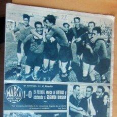 Coleccionismo deportivo: MARCA SUPLEMENTO GRAFICO DE LOS DEPORTES N 74 , 25 ABRIL 1944, EN MUY BUEN ESTADO. Lote 175742028