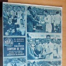 Coleccionismo deportivo: MARCA SUPLEMENTO GRAFICO DE LOS DEPORTES N 72 , 11 ABRIL 1944, EN MUY BUEN ESTADO. Lote 175742123