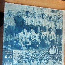 Coleccionismo deportivo: MARCA SUPLEMENTO GRAFICO DE LOS DEPORTES N 77 , 16 MAYO 1944, EN MUY BUEN ESTADO. Lote 175742219