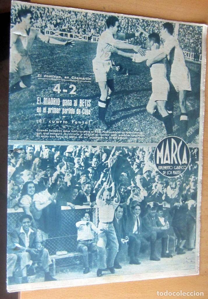 MARCA SUPLEMENTO GRAFICO DE LOS DEPORTES N 75 , 2 MAYO 1944, EN MUY BUEN ESTADO (Coleccionismo Deportivo - Revistas y Periódicos - Marca)