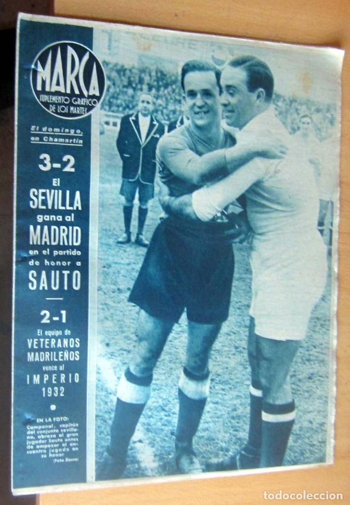 MARCA SUPLEMENTO GRAFICO DE LOS DEPORTES N 66 , 29 FEBRERO 1944, EN MUY BUEN ESTADO (Coleccionismo Deportivo - Revistas y Periódicos - Marca)