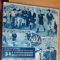 Coleccionismo deportivo: MARCA SUPLEMENTO GRAFICO DE LOS DEPORTES N 81 , 13 JUNIO 1944, EN MUY BUEN ESTADO. Lote 175742644
