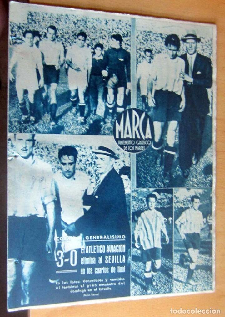 MARCA SUPLEMENTO GRAFICO DE LOS DEPORTES N 80 , 6 JUNIO 1944, EN MUY BUEN ESTADO (Coleccionismo Deportivo - Revistas y Periódicos - Marca)