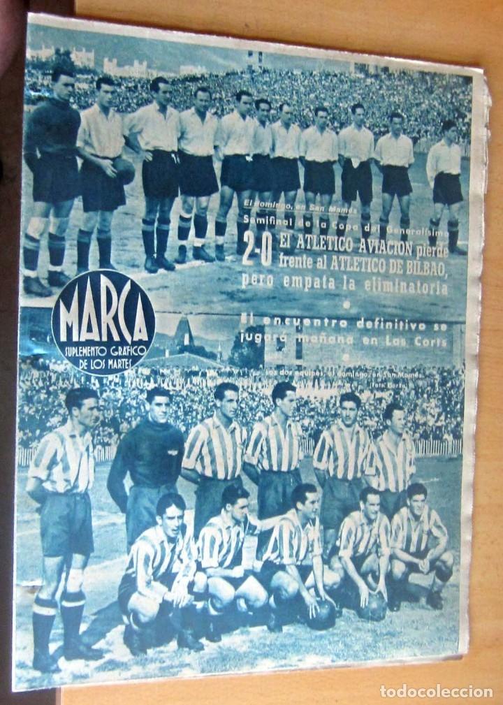 MARCA SUPLEMENTO GRAFICO DE LOS DEPORTES N 82 , 20 JUNIO 1944, EN MUY BUEN ESTADO (Coleccionismo Deportivo - Revistas y Periódicos - Marca)