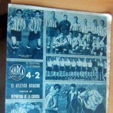 Coleccionismo deportivo: MARCA SUPLEMENTO GRAFICO DE LOS DEPORTES N 67 , 7 MARZO 1944, EN MUY BUEN ESTADO. Lote 175743022