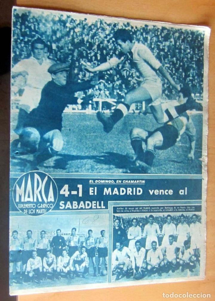 MARCA SUPLEMENTO GRAFICO DE LOS DEPORTES N 68 , 14 MARZO 1944, EN MUY BUEN ESTADO (Coleccionismo Deportivo - Revistas y Periódicos - Marca)