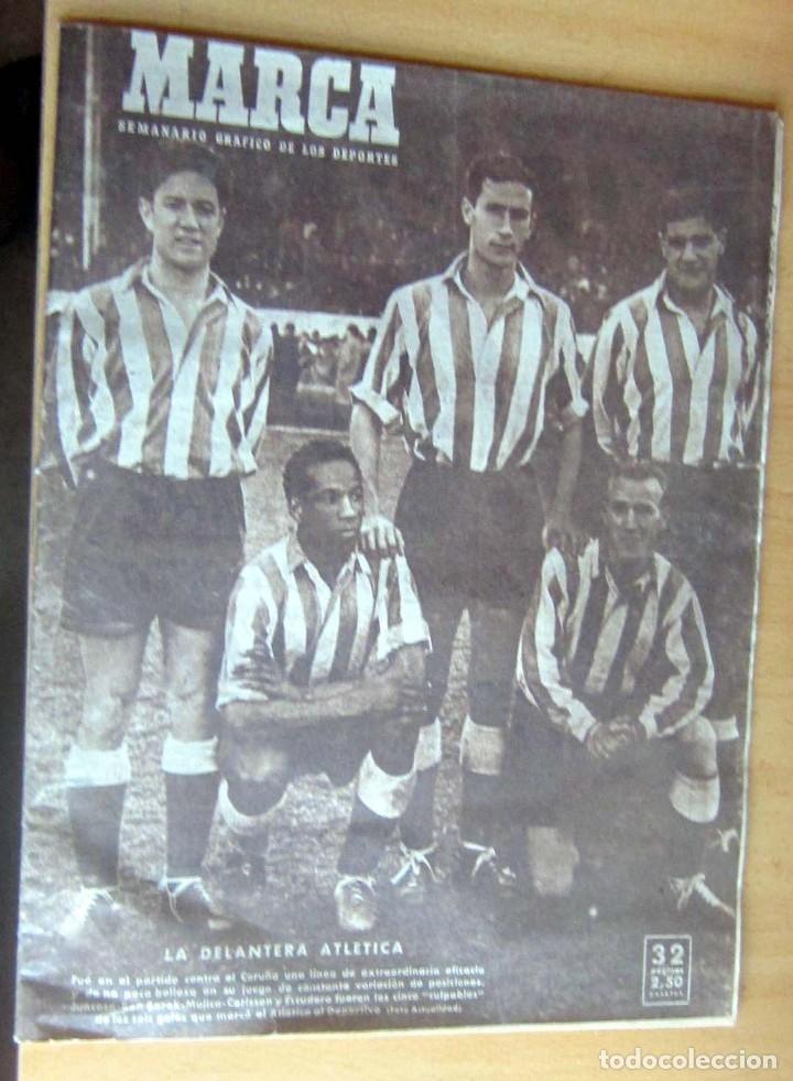 MARCA SUPLEMENTO GRAFICO DE LOS DEPORTES N 378, 28 FEBRERO 1950, EN MUY BUEN ESTADO (Coleccionismo Deportivo - Revistas y Periódicos - Marca)