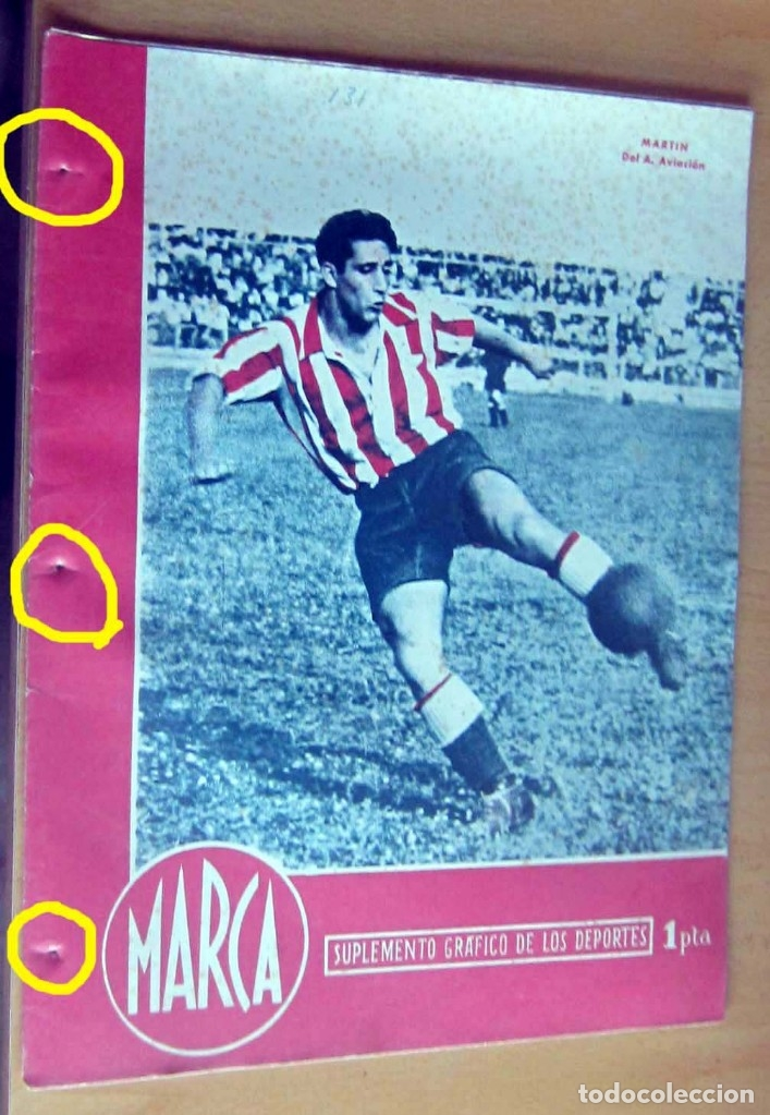 MARCA SUPLEMENTO GRAFICO DE LOS DEPORTES N 131, 29 MAYO 1945, EN MUY BUEN ESTADO (Coleccionismo Deportivo - Revistas y Periódicos - Marca)