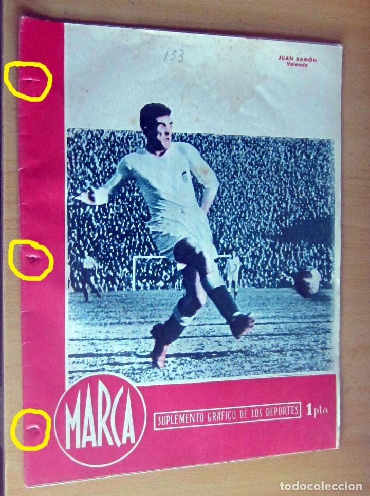 MARCA SUPLEMENTO GRAFICO DE LOS DEPORTES N 133, 12 JUNIO 1945, EN MUY BUEN ESTADO (Coleccionismo Deportivo - Revistas y Periódicos - Marca)