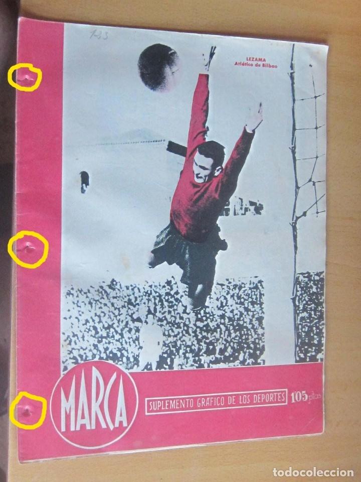 MARCA SUPLEMENTO GRAFICO DE LOS DEPORTES N 123, 3 ABRIL 1945 EN MUY BUEN ESTADO (Coleccionismo Deportivo - Revistas y Periódicos - Marca)