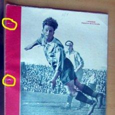 Coleccionismo deportivo: MARCA SUPLEMENTO GRAFICO DE LOS DEPORTES N 124, 10 ABRIL 1945 EN MUY BUEN ESTADO. Lote 175748625