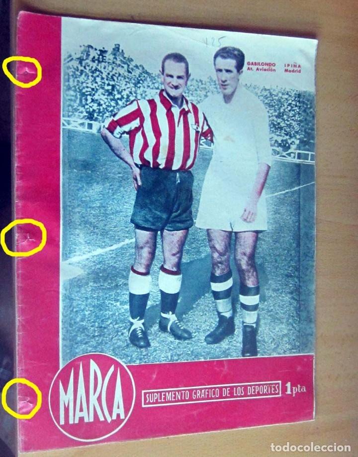 MARCA SUPLEMENTO GRAFICO DE LOS DEPORTES N 125, 17 ABRIL 1945 EN MUY BUEN ESTADO (Coleccionismo Deportivo - Revistas y Periódicos - Marca)