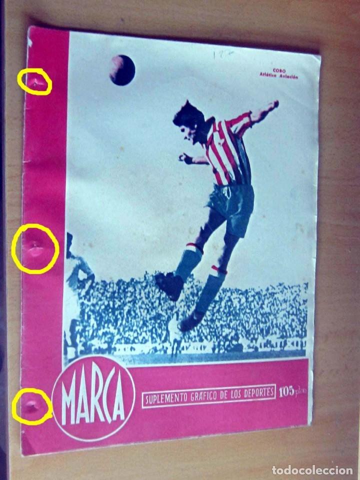 MARCA SUPLEMENTO GRAFICO DE LOS DEPORTES N 127, 1 MAYO 1945 EN MUY BUEN ESTADO (Coleccionismo Deportivo - Revistas y Periódicos - Marca)