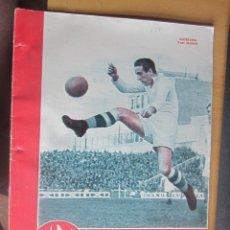 Coleccionismo deportivo: MARCA SUPLEMENTO GRAFICO DE LOS DEPORTES N 129, 15 MAYO 1945 EN MUY BUEN ESTADO. Lote 175749540