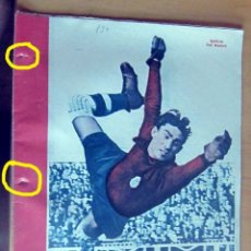 Coleccionismo deportivo: MARCA SUPLEMENTO GRAFICO DE LOS DEPORTES N 130, 22 MAYO 1945 EN MUY BUEN ESTADO. Lote 175749774