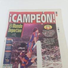 Coleccionismo deportivo: DIARIO MUNDO DEPORTIVO FINAL COPA DEL REY 96-97 FC BARCELONA REAL BETIS BARÇA CAMPEON 29 JUNIO 1997. Lote 175830765