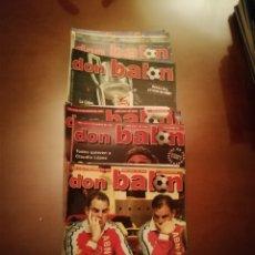 Coleccionismo deportivo: COLECCIÓN REVISTAS DON BALON AÑO 1999. LOTE 23 REVISTAS. Lote 175876885