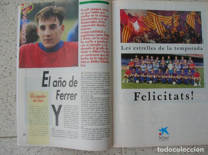 Coleccionismo deportivo: REVISTA SPORT NUMERO ESPECIAL EXTRA BARÇA - Foto 2 - 175922377