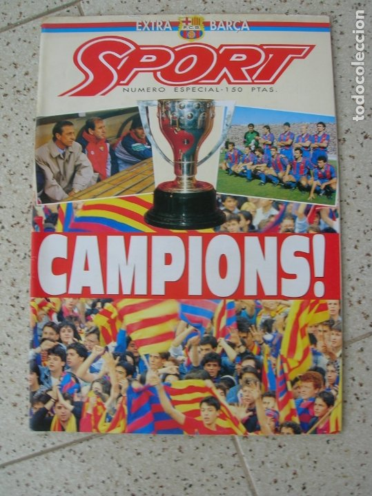 Coleccionismo deportivo: REVISTA SPORT NUMERO ESPECIAL EXTRA BARÇA - Foto 4 - 175922377