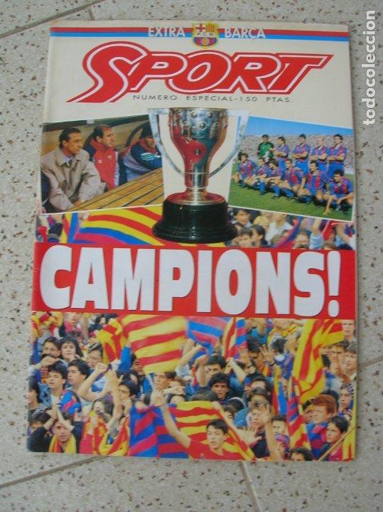 REVISTA SPORT NUMERO ESPECIAL EXTRA BARÇA (Coleccionismo Deportivo - Revistas y Periódicos - Sport)