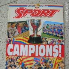 Coleccionismo deportivo: REVISTA SPORT NUMERO ESPECIAL EXTRA BARÇA. Lote 175922377