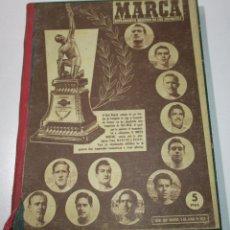 Coleccionismo deportivo: TOMO PERIÓDICO DEPORTIVO MARCA AÑOS 1946-59,CON 13 Nº, ENTRE EL 203 Y 890, FÚTBOL, CICLISMO, BOXEO... Lote 176198202
