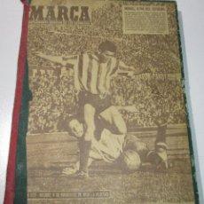 Coleccionismo deportivo: TOMO PERIÓDICO DEPORTIVO MARCA AÑO 1959,CON 13 Nº, ENTRE EL 813 Y 841, FÚTBOL, CICLISMO, BOXEO... Lote 176200447