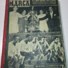Coleccionismo deportivo: TOMO PERIÓDICO DEPORTIVO MARCA AÑO 1959,CON 15 Nº, ENTRE EL 859 Y 876, FÚTBOL, CICLISMO, BOXEO... Lote 176202834