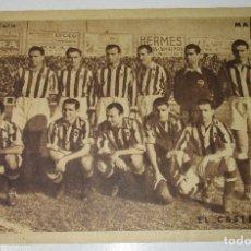 Coleccionismo deportivo: LÁMINA Nº 15 PERIÓDICO DEPORTIVO MARCA AÑO 1959, CASTELLON. Lote 176203270