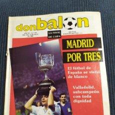 Coleccionismo deportivo: REVISTA DON BALÓN 716 LA FINAL DE COPA. Lote 176357293