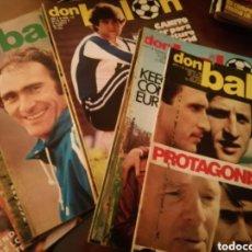 Coleccionismo deportivo: DON BALON AÑO 1979. LOTE 24 REVISTAS SEGUIDAS. BUEN ESTADO. Lote 176407480