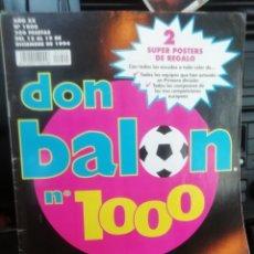 Coleccionismo deportivo: DON BALON NÚMERO 1000. AÑO 1995. HISTÓRICO.. Lote 176410423