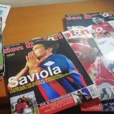 Coleccionismo deportivo: DON BALON. AÑO 2004. 7 REVISTAS DE LOS INICIOS.. Lote 176521989