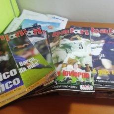 Coleccionismo deportivo: DON BALON. AÑOS 2002. LOTE DE 24 REVISTAS. Lote 176522090