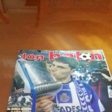 Coleccionismo deportivo: DON BALON. DEPORTIVO CORUÑA CAMPEÓN COPA 2002. CENTENARIAZO.. Lote 176543290