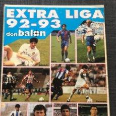 Coleccionismo deportivo: FÚTBOL DON BALÓN - EXTRA LIGA NÚMERO 23 TEMPORADA 92-93 - AS MARCA SPORT MUNDO DEPORTIVO ALBUM CROMO. Lote 176577625