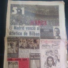 Coleccionismo deportivo: DIARIO MARCA 29 DICIEMBRE 1947. Lote 176583090