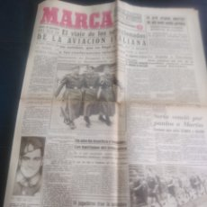 Coleccionismo deportivo: DIARIO MARCA 17 DICIEMBRE 1942 N 20. Lote 176722420