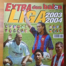 Coleccionismo deportivo: DON BALÓN EXTRA LIGA 2003-2004 EXTRA N° 69. Lote 176786843